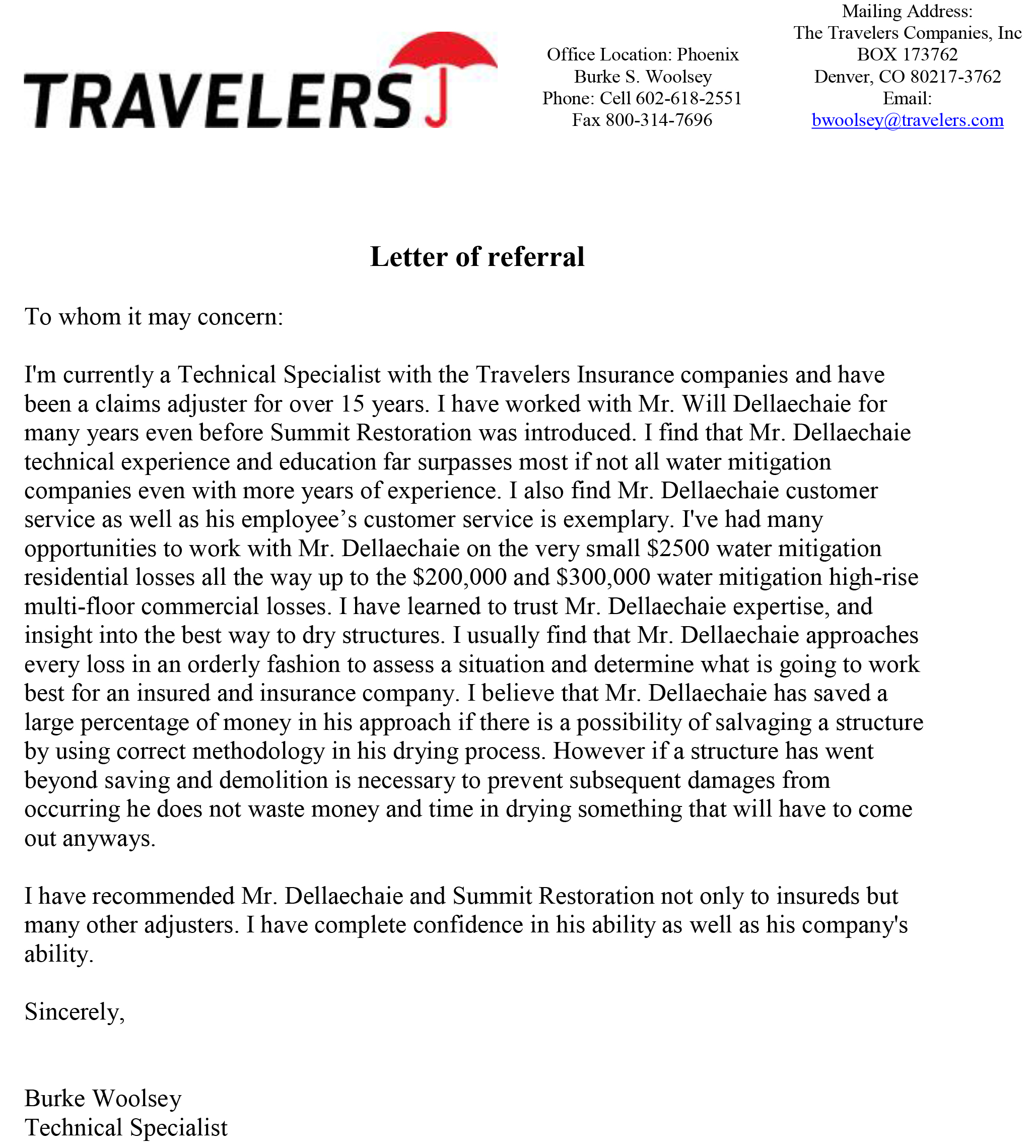 Unique Mitigation Specialist Jobs Or Loss Mitigation: Travelers Insurance